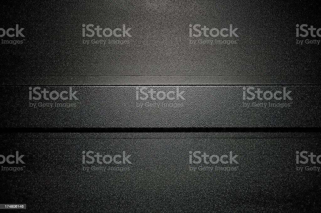 Industrial black steel textured background stock photo
