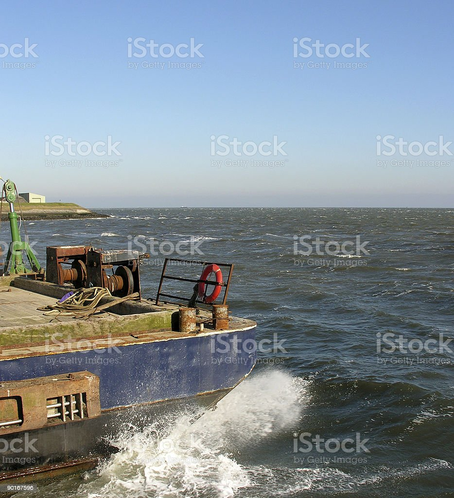 industrial boat royalty-free stock photo