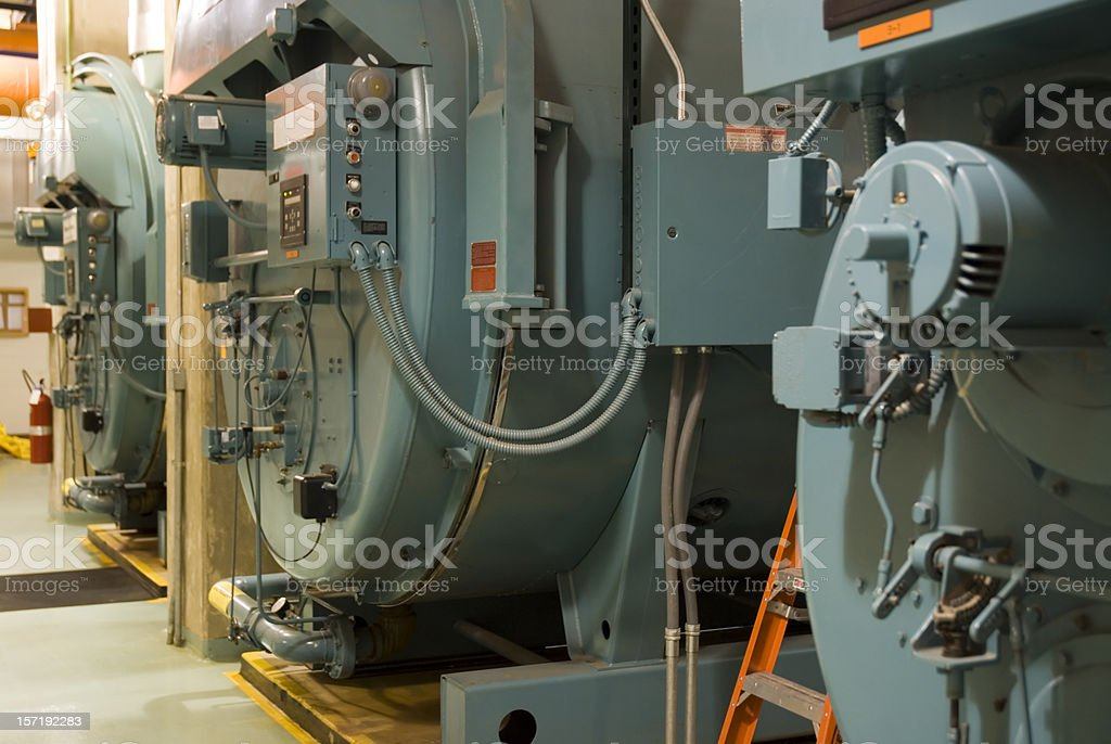 Industrial Boilers stock photo