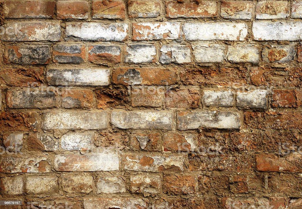 Industrial Brick Wall stock photo