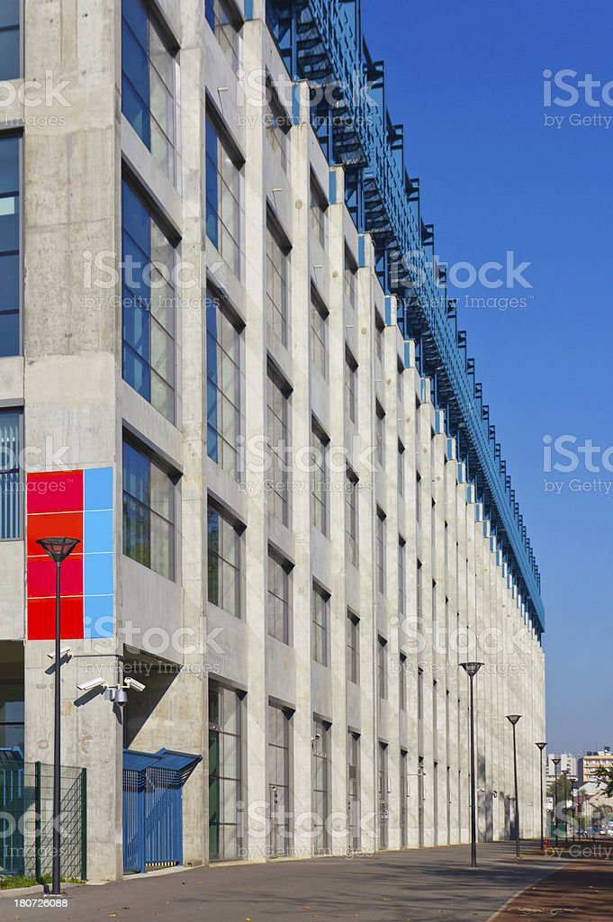 Industrial Building royalty-free stock photo