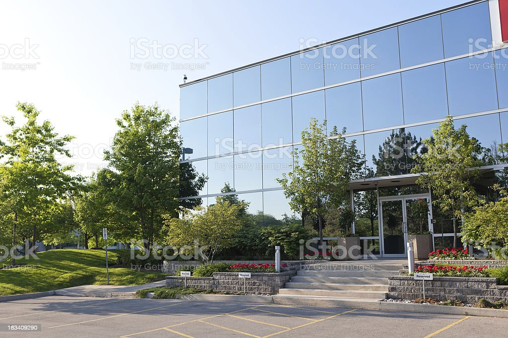 Industrial Building stock photo