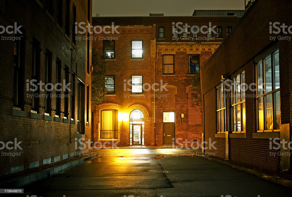 Industrial Buildings royalty-free stock photo