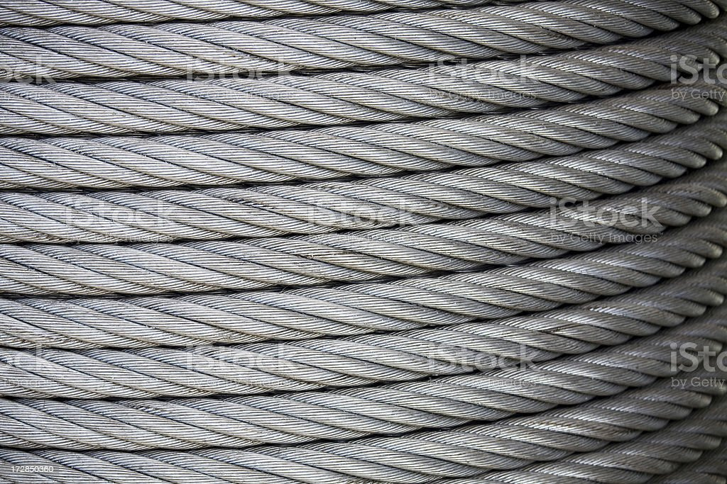 Industrial cable and wire royalty-free stock photo
