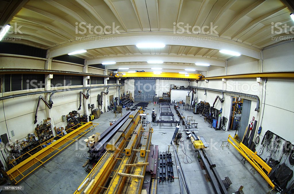 Industrial Complex - 2 royalty-free stock photo