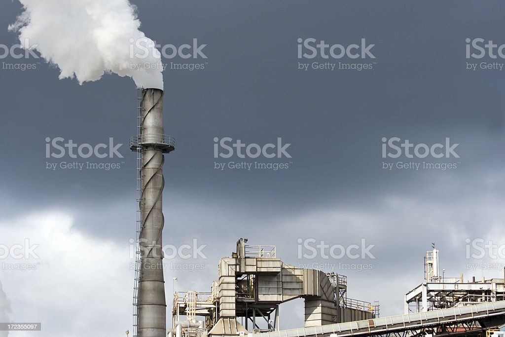 Industrial Complex royalty-free stock photo