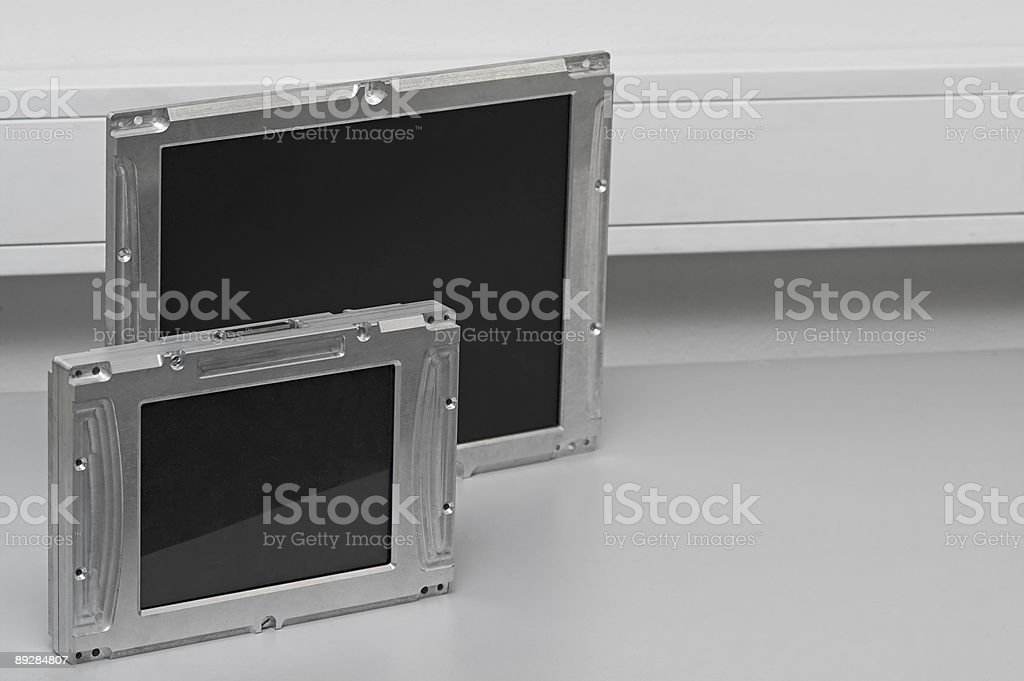 Industrial Computers royalty-free stock photo
