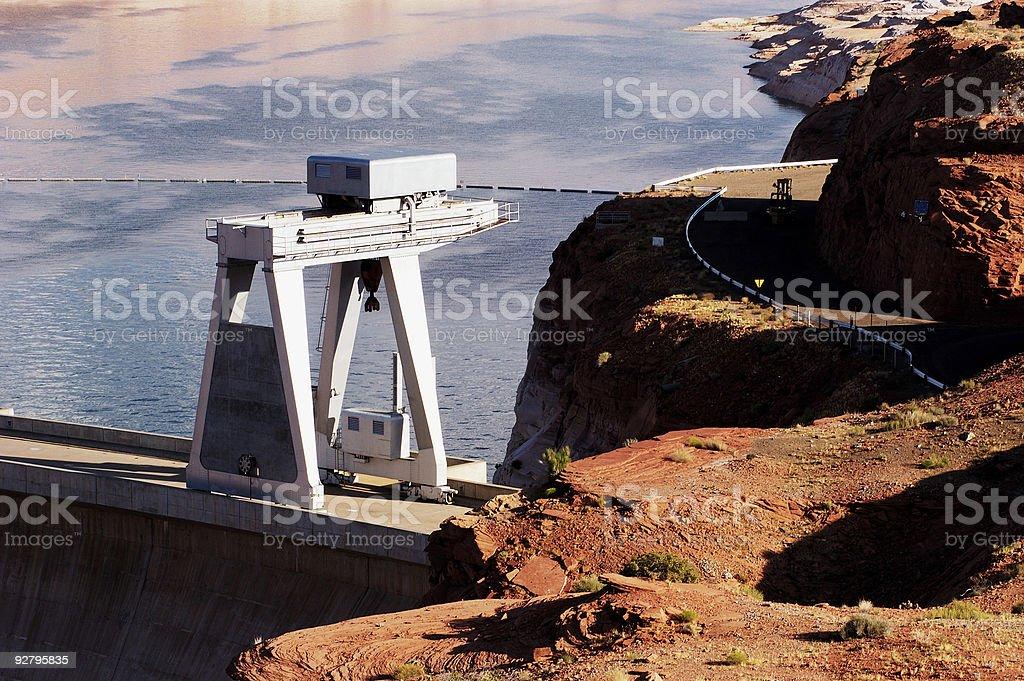 Industrial Crane royalty-free stock photo