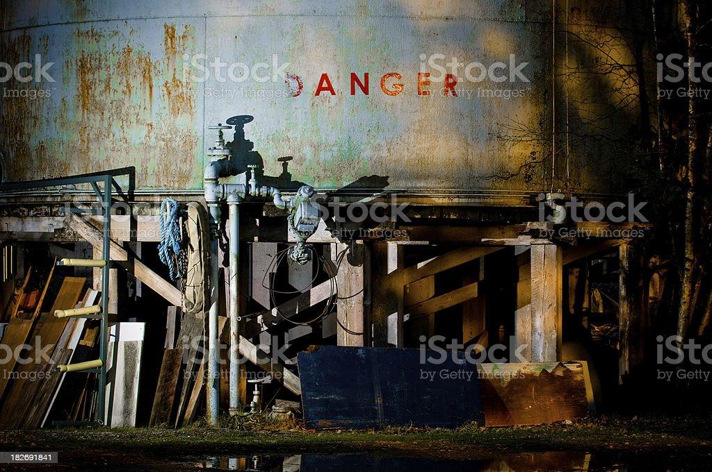 industrial danger stock photo