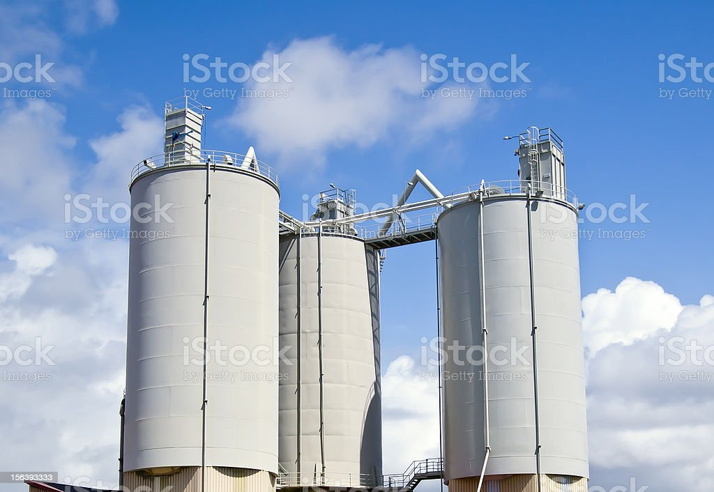 Industrial deposits royalty-free stock photo
