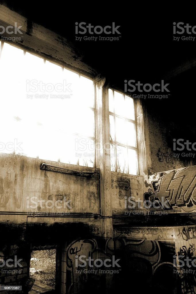 Industrial desolation #5 royalty-free stock photo