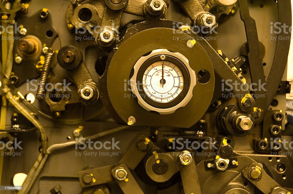 Industrial Details royalty-free stock photo