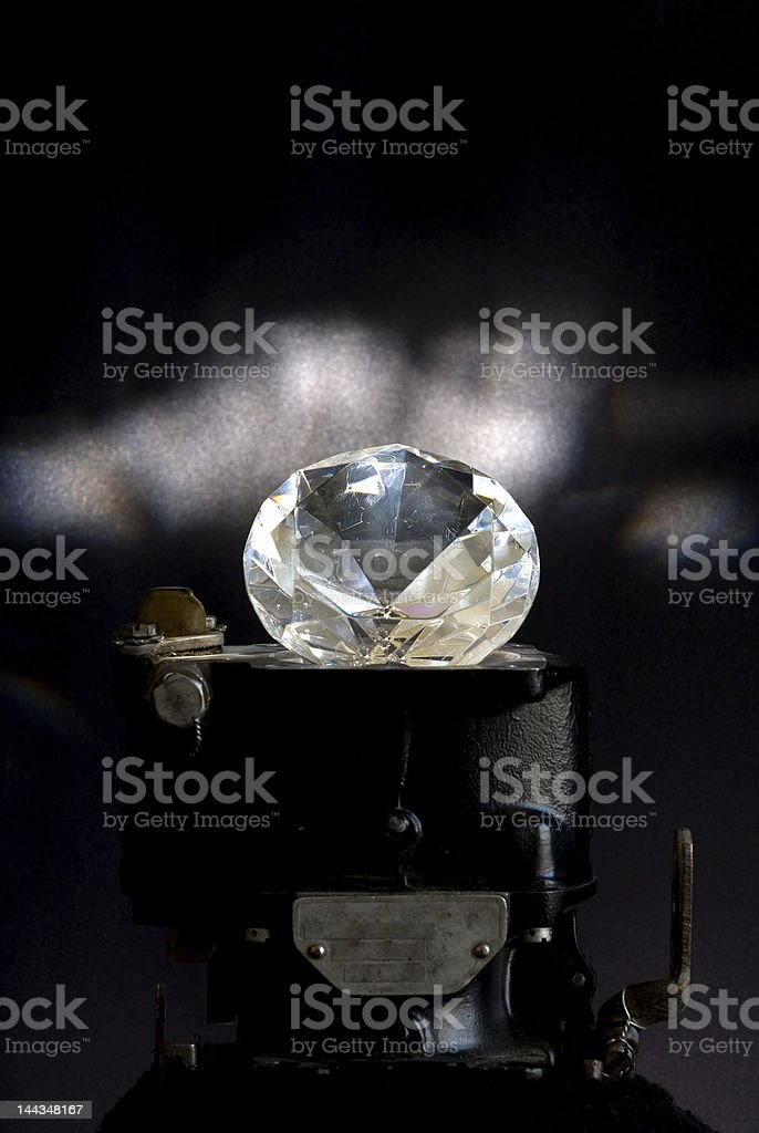 Industrial Diamond stock photo