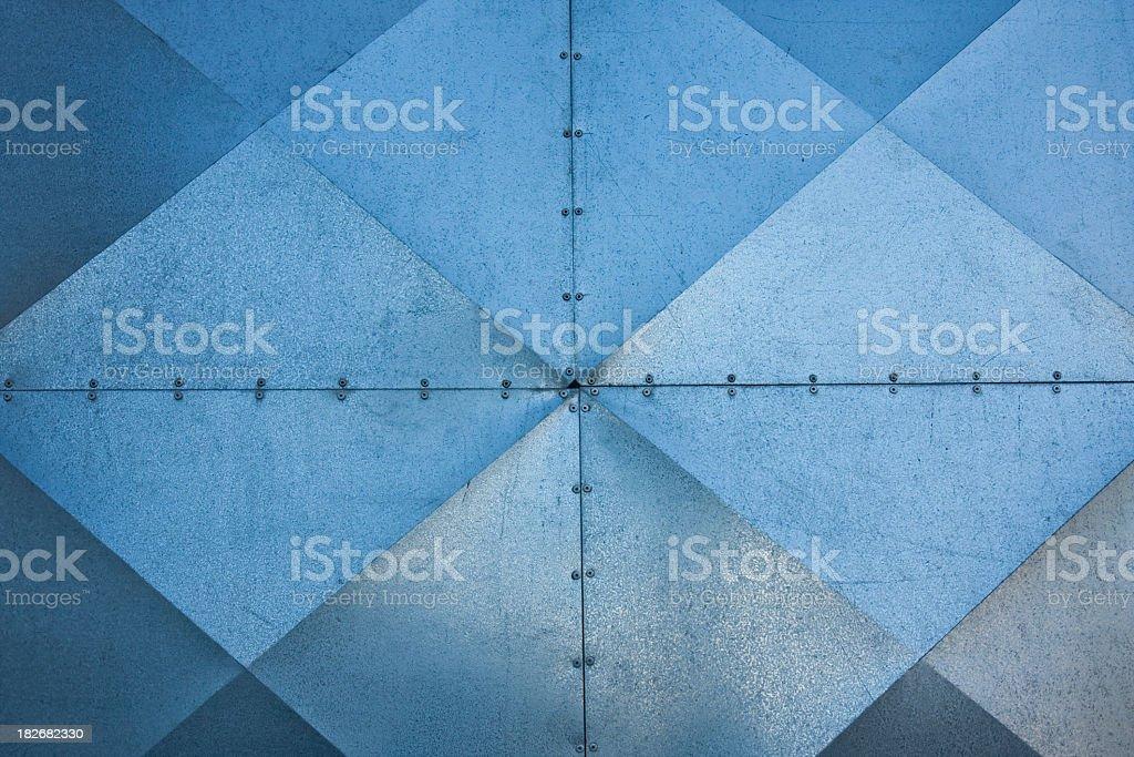 Industrial door detail royalty-free stock photo