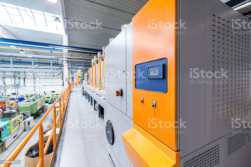 Industrial drying stock photo