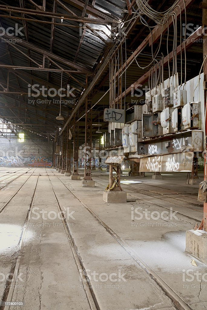 Industrial  ElectricalPanel royalty-free stock photo