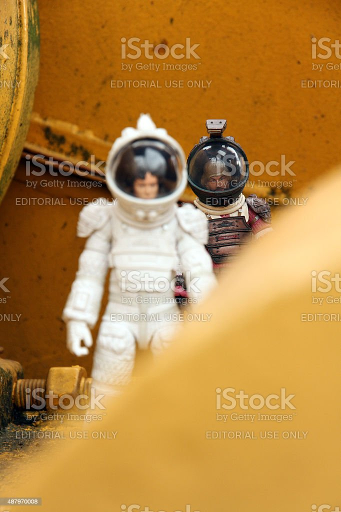 Industrial Exploration stock photo