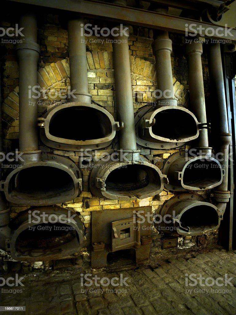 Industrial face royalty-free stock photo