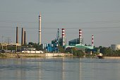 Industrial Facilities by the river