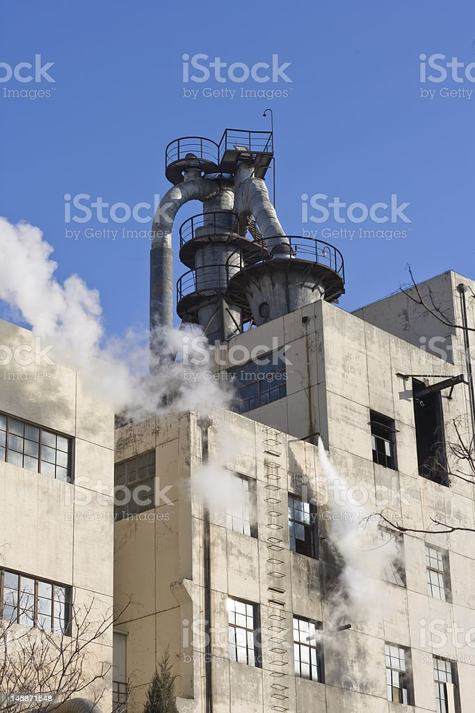 Industrial facilities stock photo