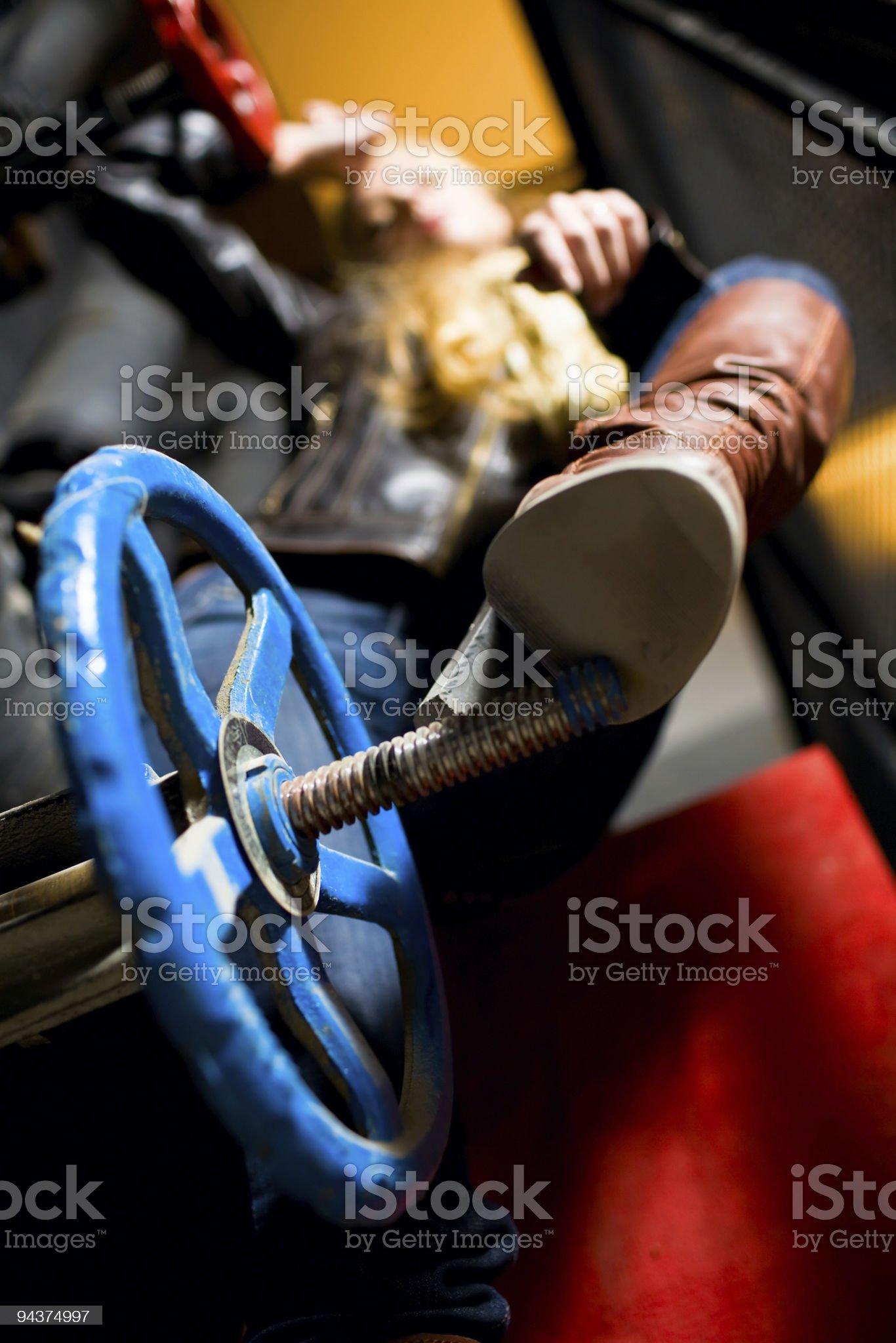 Industrial fashion royalty-free stock photo