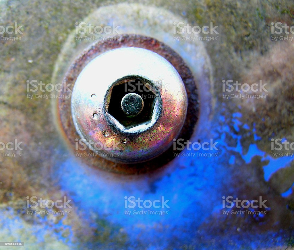 Industrial Fastener royalty-free stock photo