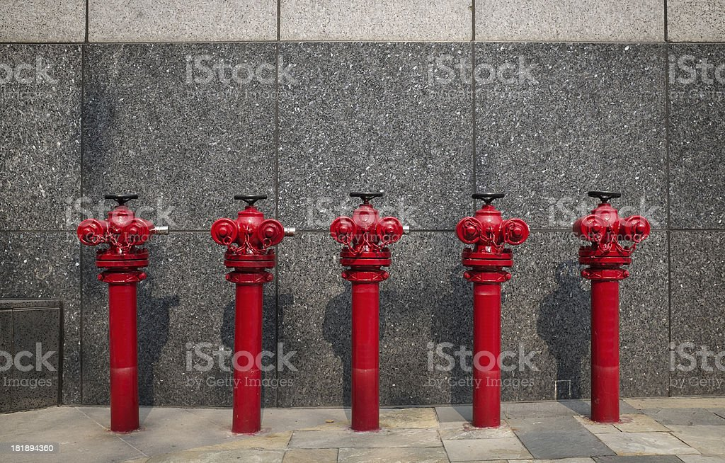 Industrial Fire Hydrant royalty-free stock photo