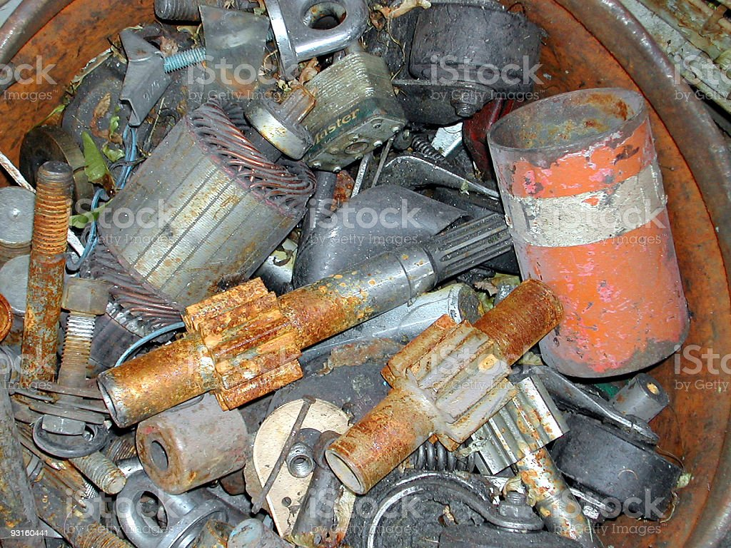 industrial garbage 01 stock photo