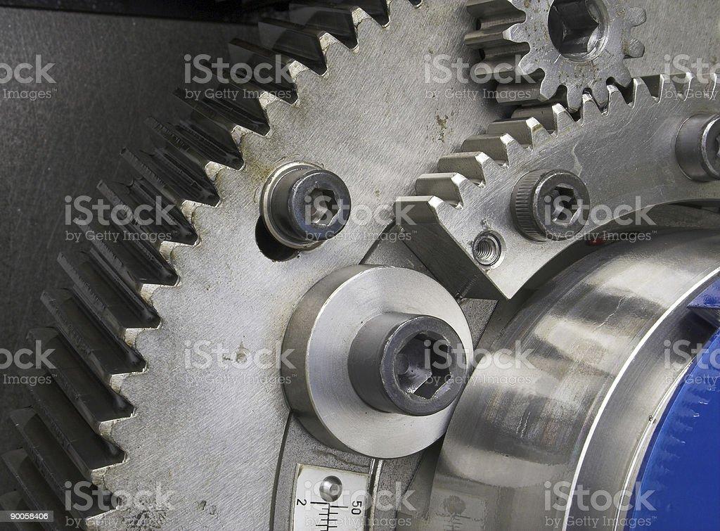 Industrial Gears stock photo