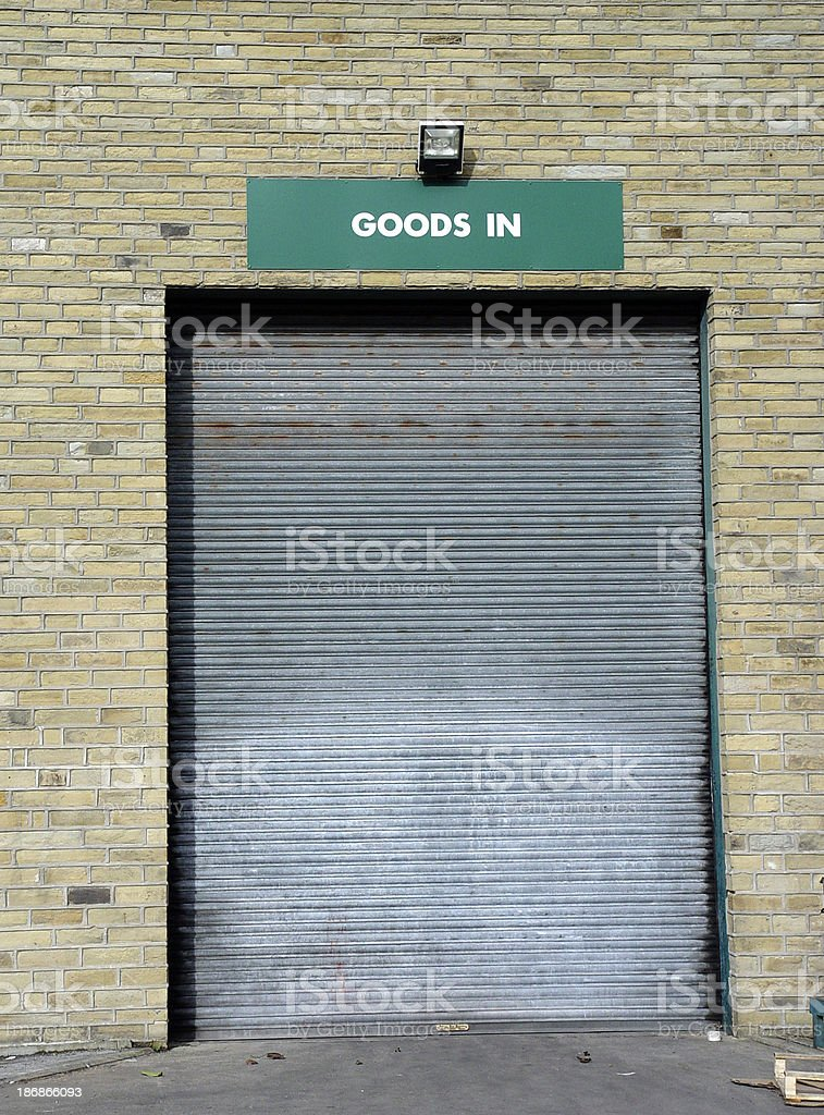 Industrial - Goods Doors royalty-free stock photo