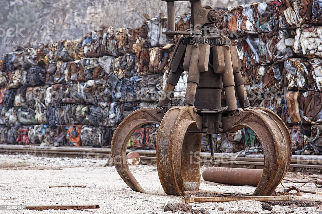 Industrial grabber royalty-free stock photo