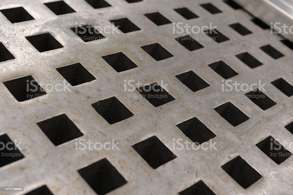 Industrial grating royalty-free stock photo