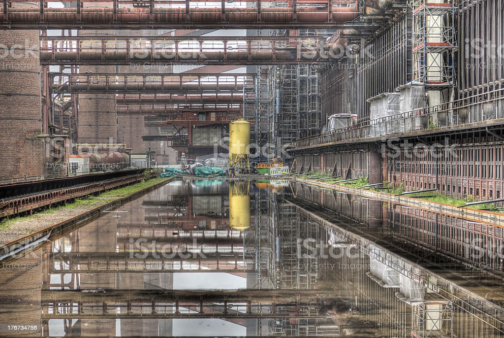 Industrial Heritage stock photo