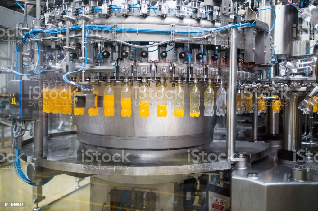 Industrial indoors and machinery stock photo