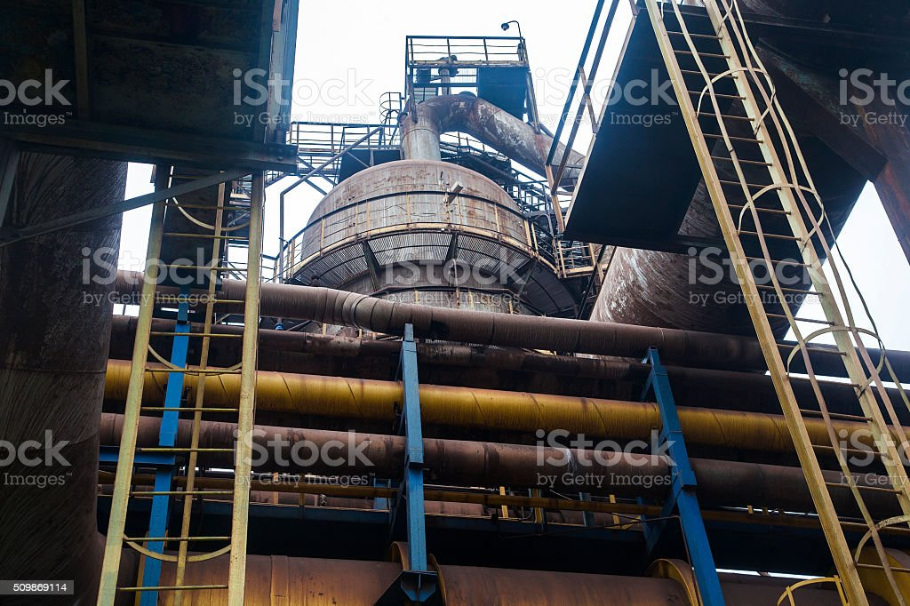 industrial installations stock photo