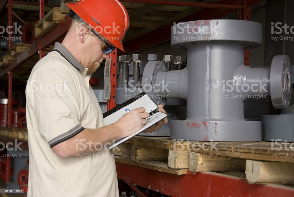 Industrial Inventory royalty-free stock photo