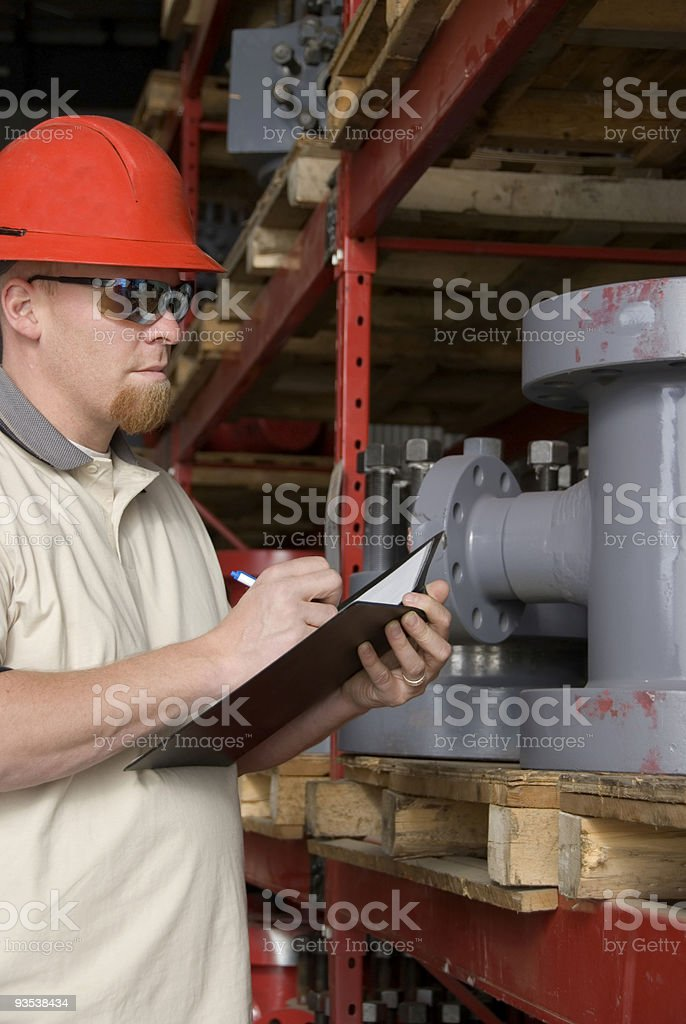 Industrial Inventory stock photo