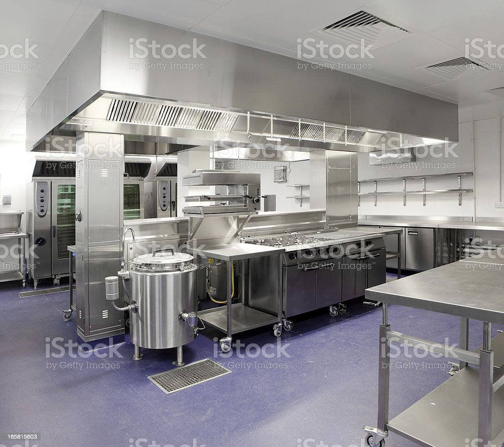 Industrial kitchen royalty-free stock photo