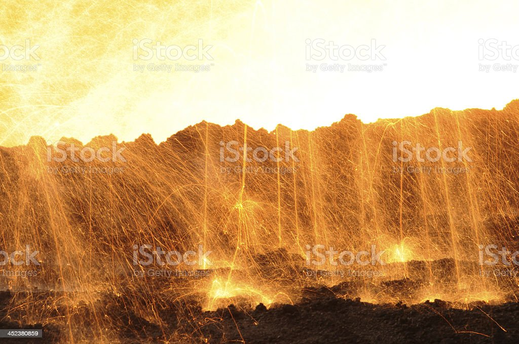 Industrial landscape royalty-free stock photo