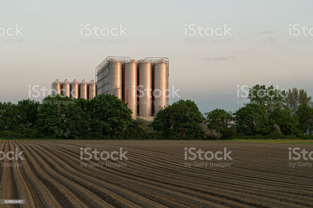 Industrial Landscape stock photo