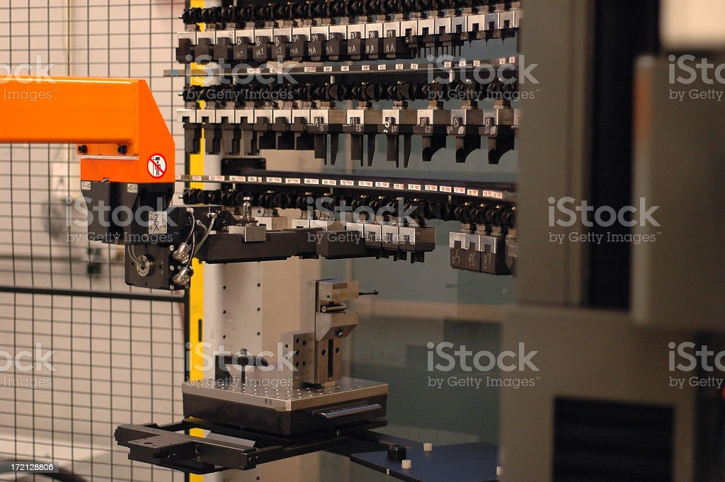 Industrial Machinery royalty-free stock photo