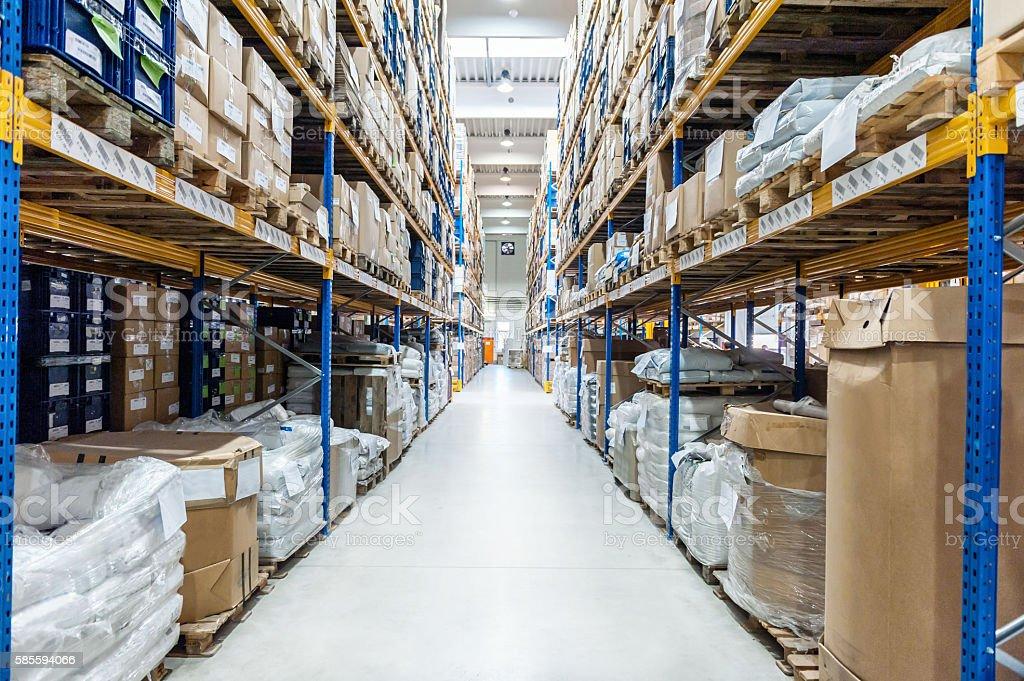 Industrial megastore stock photo
