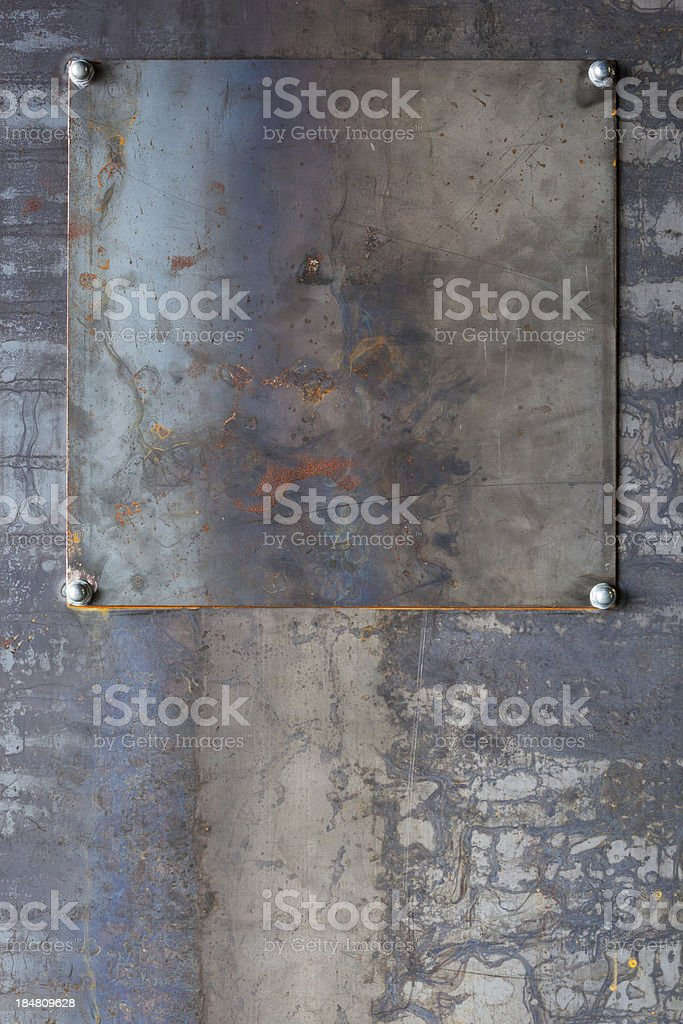 Industrial metal background royalty-free stock photo