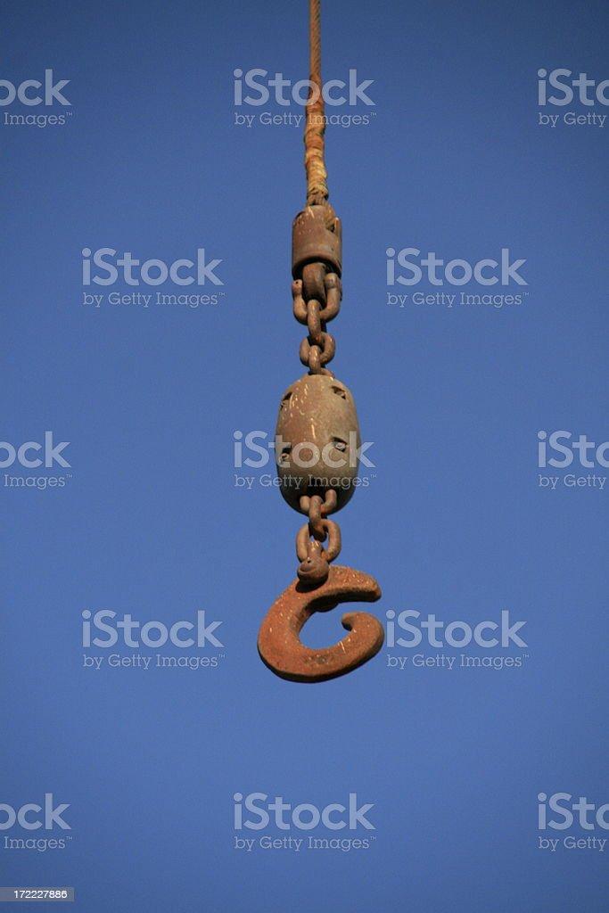 Rusted Industrial metal hook