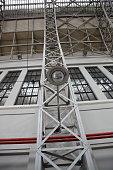 Industrial metal lantern