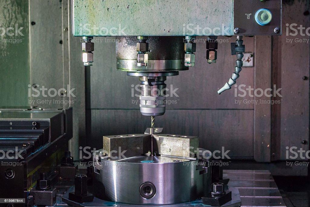 industrial metal work machining stock photo
