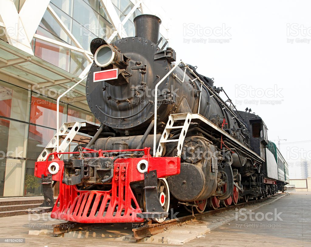 Industrial park, exhibition of the train?Let people to visit