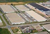 Industrial Park Milton, aerial
