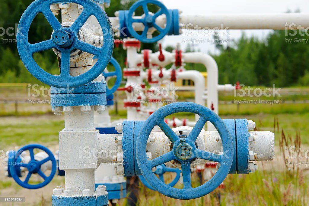 Industrial pipe. stock photo