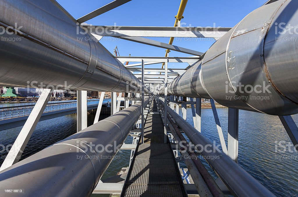 Industrial Pipe royalty-free stock photo
